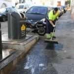 limpieza trabajador